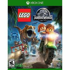 LEGO JURASSIC WORLD XBOX ONE NEW! DINOSAUR FUN ACTION! FAMILY GAME PARTY NIGHT!#
