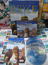PC CD-Rom:Myst III Exile [TOP UBI SOFT & 1ERE EDITION] COMPLET - Fr