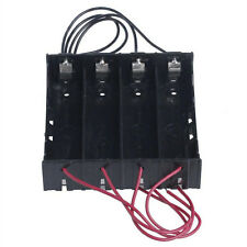 Plastic Battery Holder Storage Box Case For 4 x 18650 Rechargeable Battery US532