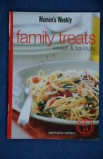 WOMENS WEEKLY~ Mini Cookbook FAMILY TREATS -Sweet & Savoury~RARE~ GR8 Recipes
