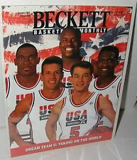 NBA Beckett August 1994 Issue #49 Olympic USA Men's Basketball Shaquille O'Neal