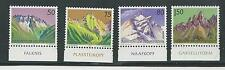LIECHTENSTEIN # 911-914 MNH MOUNTAINS (with Tabs)