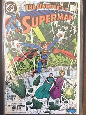 Adventures of Superman   #461     Eradicator      (1989)      VF
