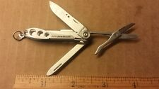 Leatherman Style Scissor Knife File Keychain Mini Multi Tool FREE SHIPPING B+