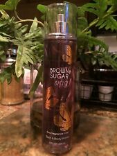 New FULL SIZE Bath and Body Works Brown Sugar And Fig - 8 oz Fragrance Mist