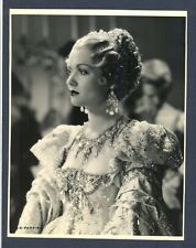 GREAT CONSTANCE BENNETT IN COSTUME - NEAR MINT  KEY BOOK LINEN-BACKED PHOTO