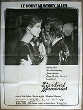 STARDUST MEMORIES Affiche Cinéma / Movie Poster Woody Allen 160x120