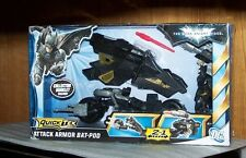 MATTEL DC COMICS BATMAN THE DARK KNIGHT RISES Quick Tek ATTACK ARMOR BAT-POD