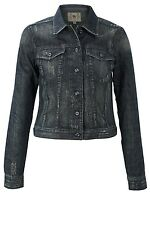FRENCH CONNECTION DISTRESSED DENIM JACKET SHADE WASH NEW WITH TAGS UK RRP £97 10