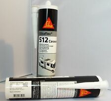 Sikaflex 512 Sealant 300ml White x 1 300ml *NEW PLASTIC Tube *EXP DATE 12/2017*