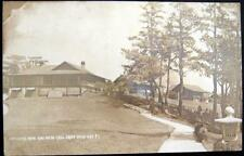 PHILIPPINES~1900's BAGUIO CITY~ OFFICERS ROW & MESS HALL~CAMP JOHN HAY ~ RPPC