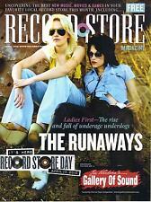 4/2010 RECORD STORE magazine  THE RUNAWAYS cover