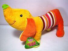 """Colorful WIENER DOG DACHSHUND Brand New Plush NWT Stuffed Tags 15"""" SUGAR LOAF"""