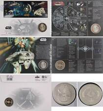 Brand New Star Wars Limited Edition Medal/Coin Cover - Vehicles - BU Stamps GB