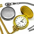 Pocket Watch Engraved Personalised Gift Masonic Present Square And Compass