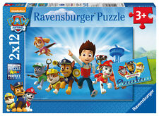 New! 07586 Ravensburger Paw Patrol Jigsaws 2 x 12pc Puzzles Children Kids Age 3+