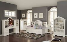 """Acme""""Estrella"""" White Twin Daybed w/ Nightstand w/ Extra Options Furniture 39150"""