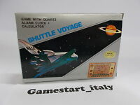 CONSOLE MG-8 GAME SHUTTLE VOYAGE - NEW OLD STOCK RARE LCD HANDHELD GAME WATCH