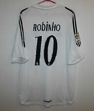 Real Madrid Spain home shirt 05/06 #10 Robinho Adidas