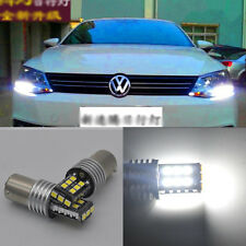 2x Error Free 10W HID White LED Bulb Daytime DRL Light for Volkswagen MK6 Jetta