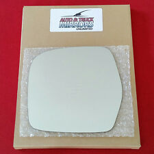 NEW Mirror Glass + ADHESIVE 98-07 TOYOTA LAND CRUISER Driver Left Side LH