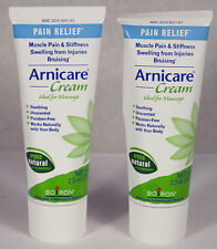 2 Boiron ARNICARE homeopathic Arnica CREAM 2.5oz muscle pain Relief 09/2017