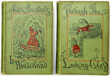 ALICE IN WONDERLAND Alice's Adventures THROUGH THE LOOKING GLASS Lewis CARROLL