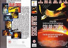 Solar Crisis, Tim Matheson Video Promo Sample Sleeve/Cover #14855