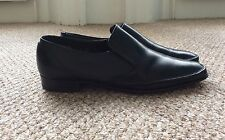 Crockett And Jones Putney Leather Slip On Shoes Made In England - Size UK 11