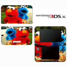 Vinyl Skin Decal Cover for Nintendo 3DS XL LL - Sesame Street Elmo Cookie Monste