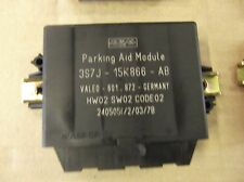 FORD MONDEO MK3 REAR PDC PARKING AID MODULE 2004-07 3S7J15K866AB REVERSING VALEO