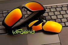 A30 Fire Gold POLARIZED Replacement Legend Lenses For Oakley FUEL CELL
