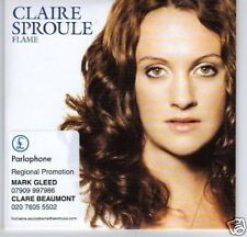 (D161) Claire Sproule, Flame - DJ CD