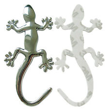 Fashion Metalic Gecko Solid Truck Sticker Decor Styling Cool 3D Lizard Car Decal
