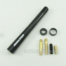 Black Mazdaspeed Short Carbon Fiber Style Antenna 4.7 inch For Mazda 2 3 5 6