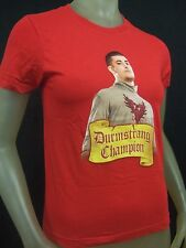 Cute New Juniors Med Red Harry Potter Wizard Viktor Krum Durmstrang T- Shirt GOF