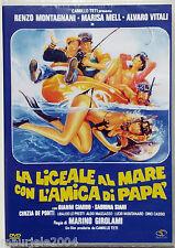 La Liceale Al Mare Con L'Amica Di Papa' (1980) DVD NUOVO Renzo Montagnani, Alvar