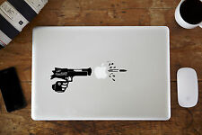 "Bang Bang Gun Decal Sticker Para Apple Macbook air/pro Laptop 11 "" 12"" de 13 "" 15"""