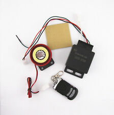 Vibration Sensor Anti-theft Security Alarm System Remote Control Kits For Harley
