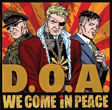 DOA We Come In Peace Vinyl LP Record d.o.a jello biafra beatles billy talent NEW