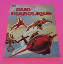 1980 MARVEL FRANCE FIRESTORM & NAIMOR  LARGE FRENCH COMIC BOOK FREE SHIP