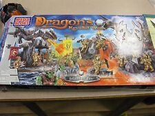 Mega Bloks Dragons Krystal Wars Island of Fire #9877 FREE SHIPPING