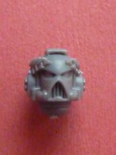 Space Marine VANGUARD VETERAN MK 7 HELMET with LAURELS - Bits 40K