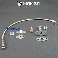MAMBA For NISSAN SR20DET S13~S15 Turbo Oil Feed & Return Line Kit Garrett T3 T4