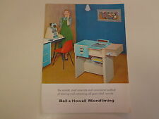 Bell & Howell Microfilming Brochure Catalog 1960's Microfilm