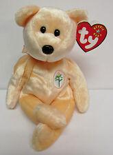 Ty Beanie Baby Dearest, Peach tone Mother's Day Teddy Bear PRISTINE w/Mint Tags
