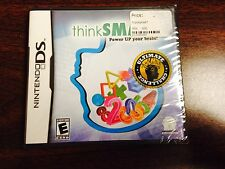New  DS thinkSMART Power Up your brain ! NDS Video Game