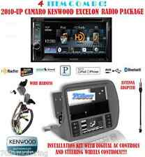 KENWOOD RADIO DDX492 + SCOSCHE GM5201AB 2010 & UP CHEVY CAMARO DASH KIT INSTALL