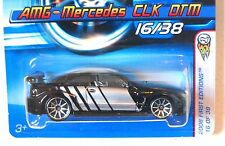 2006 Hot Wheels FIRST EDITIONS #16 ∞ AMG-MERCEDES CLK DTM ∞ BLACK W/10SPOKE WHLS