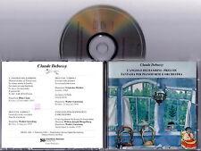 CLAUDE DEBUSSY  L'Angolo Dei Bambini - Preludi Fantasia Piano Orch. CD 1992 RARE